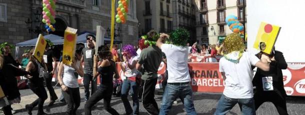 Gimcana Festa Major de la Mercè a Barcelona
