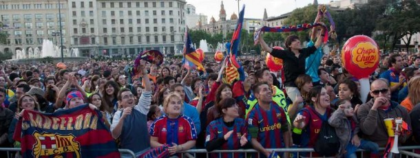 Celebració Final Lliga 2010