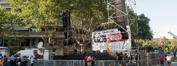 Manifestació per l'Estatut de Catalunya