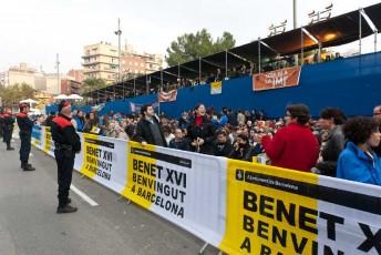 Visita Benet XVI a Barcelona