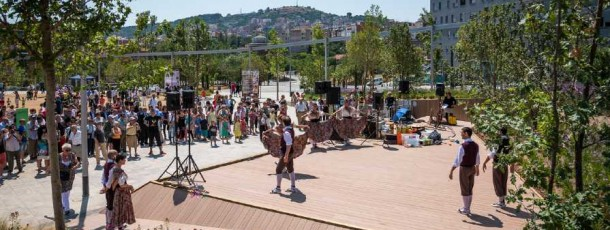 Inauguració Parc de les Rieres d'Horta i visites ciutadanes