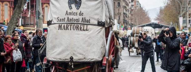 Tres Tombs de Sant Antoni de Barcelona
